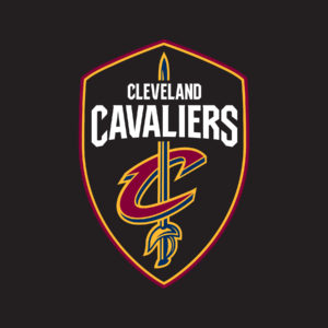 Cavs Global Logo - Shield - ON BLACK
