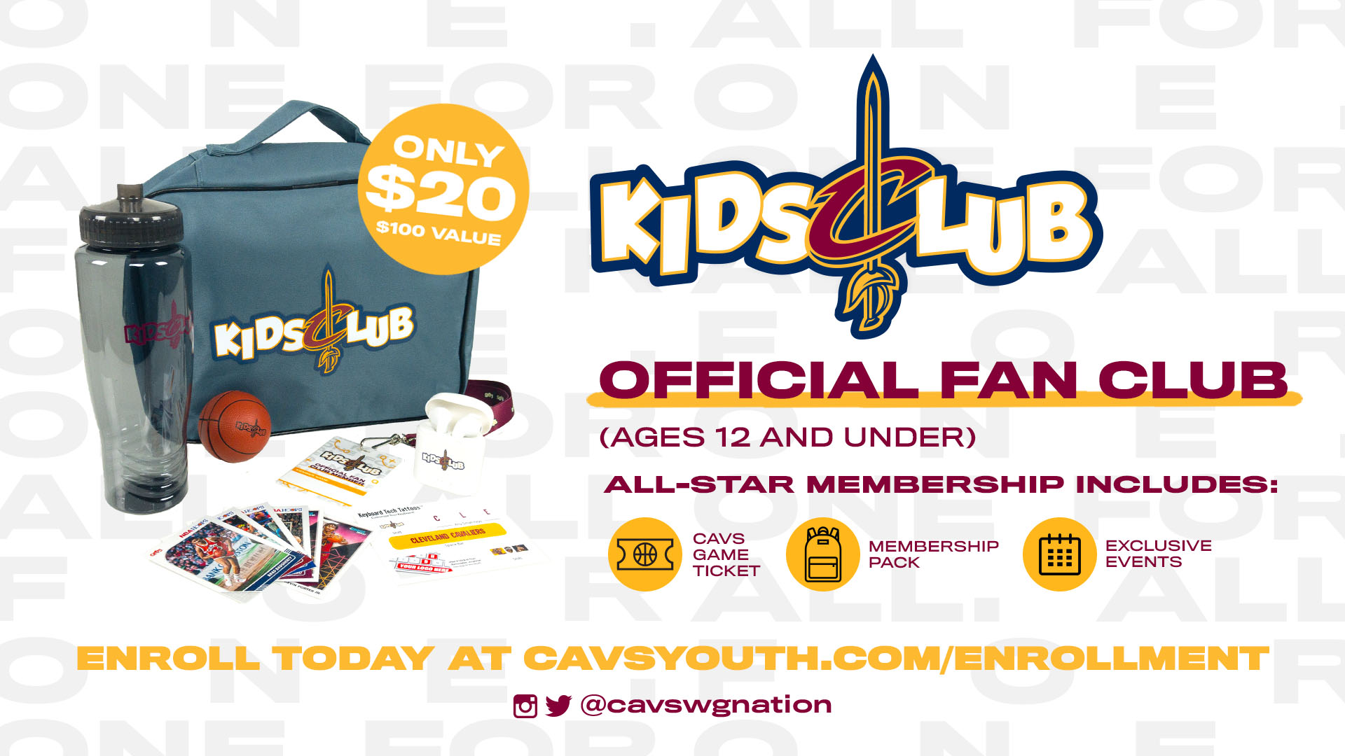 CGX-122660 Kids Club Membership Signup GraphicsTwitter